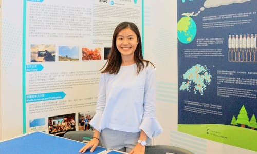 Students for sustainability… University of Oxford's Natalie Chung
