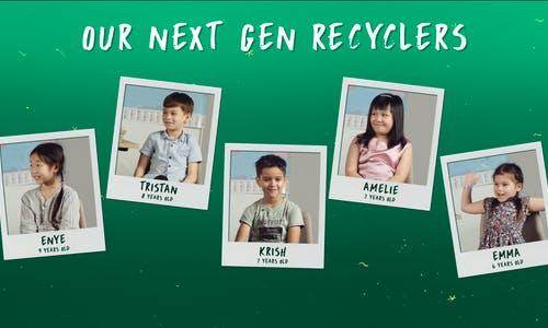 Meet our next generation recyclers