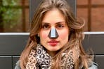 Carina Cunha, inventor of Nosy, a new anti-air pollution device.