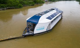 River vessels that sweep up marine trash to be built in Malaysia