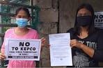 Climate activists, Manila