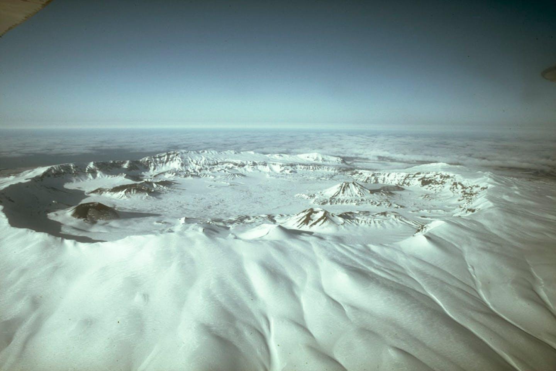 Okmok Alaskan volcano