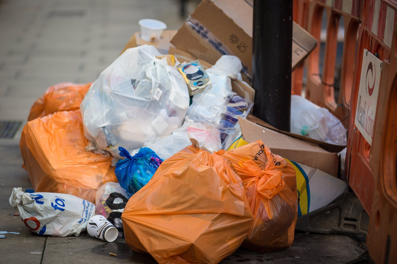 Plastic bags in Singapore