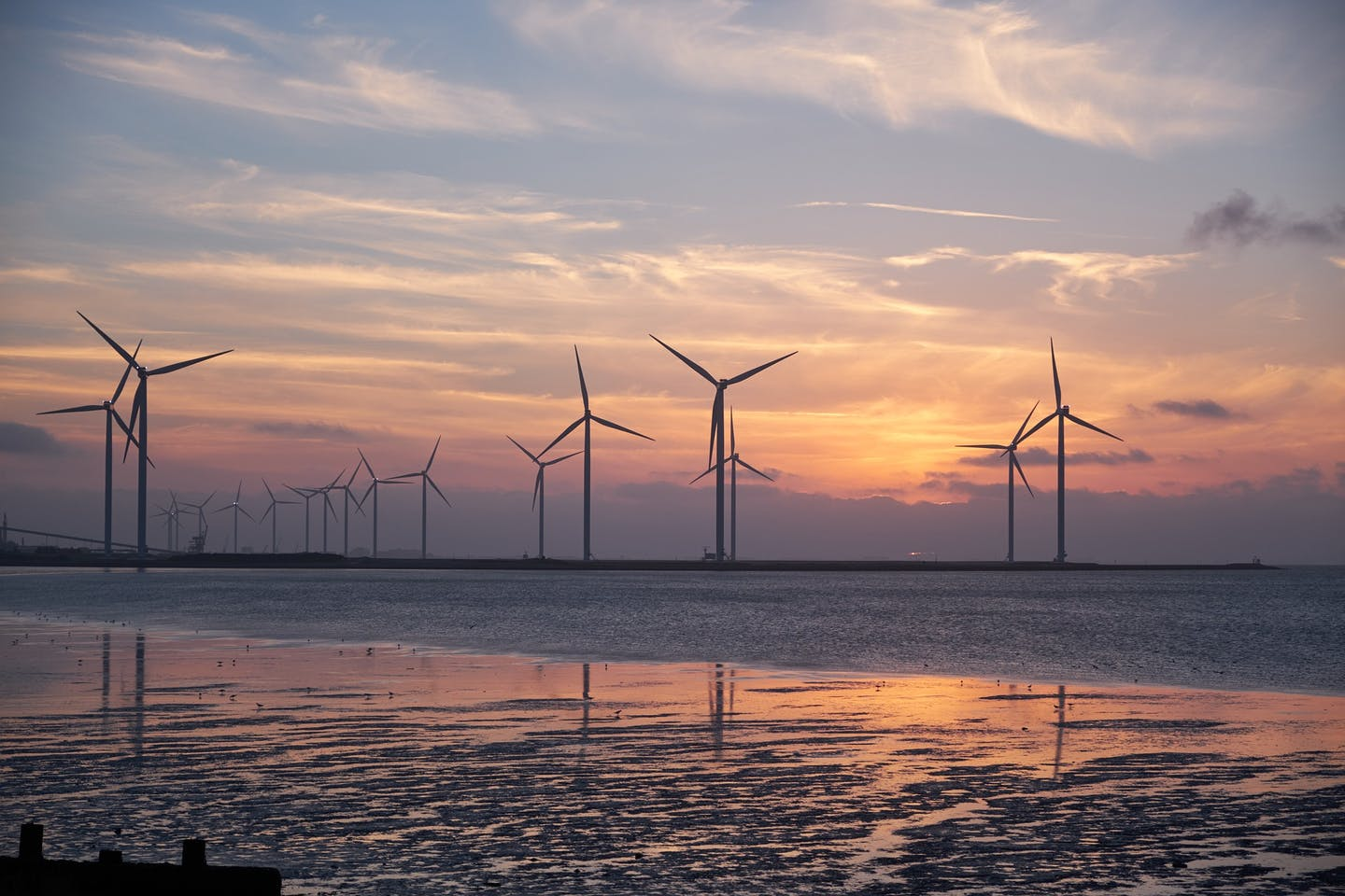 European companies have played a key role in developing Asian offshore wind projects.