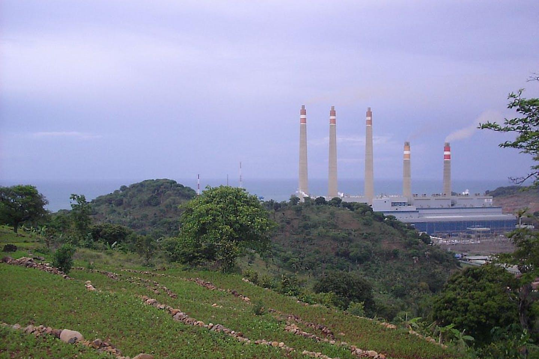 Suralaya coal-fired power plant indonesia