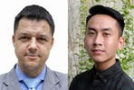 Miquel Angel and Tran Quoc My. Image: CL2B