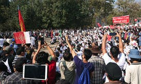 Myanmar faced third wave of Covid-19 infections amid anti-coup protests