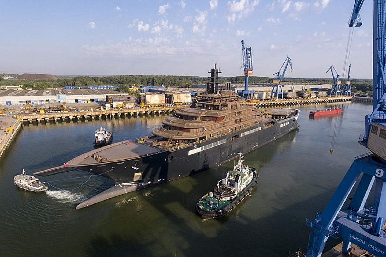 REV Ocean's research vessel
