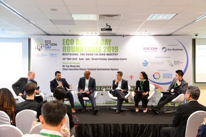 Ricoh Eco Action Day 2019 panel- newest