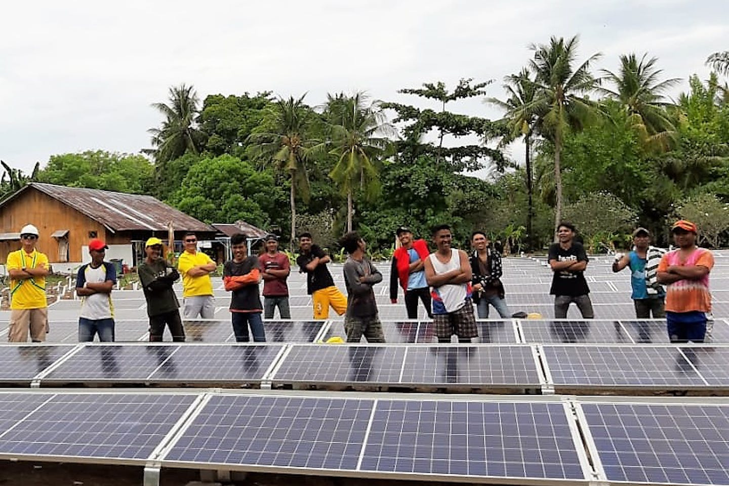 Right People Renewable Energy team in Indonesia.