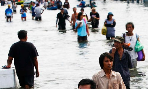 Rising seas could cost Asia's biggest cities US$724 billion by 2030