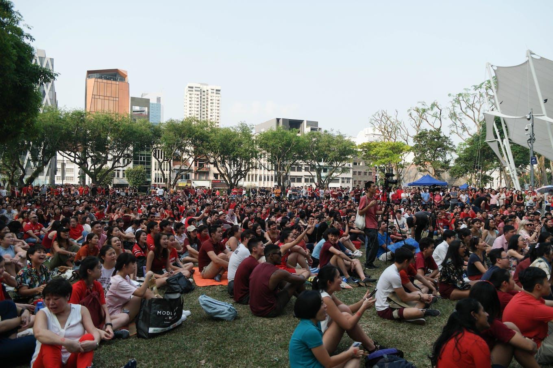 climate rally singapore