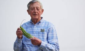 'Nobel for food' winner tells ailing world to eat more veg