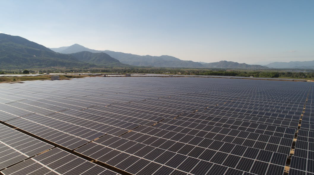 AC Energy's 50 megawatt solar farm Vietnam