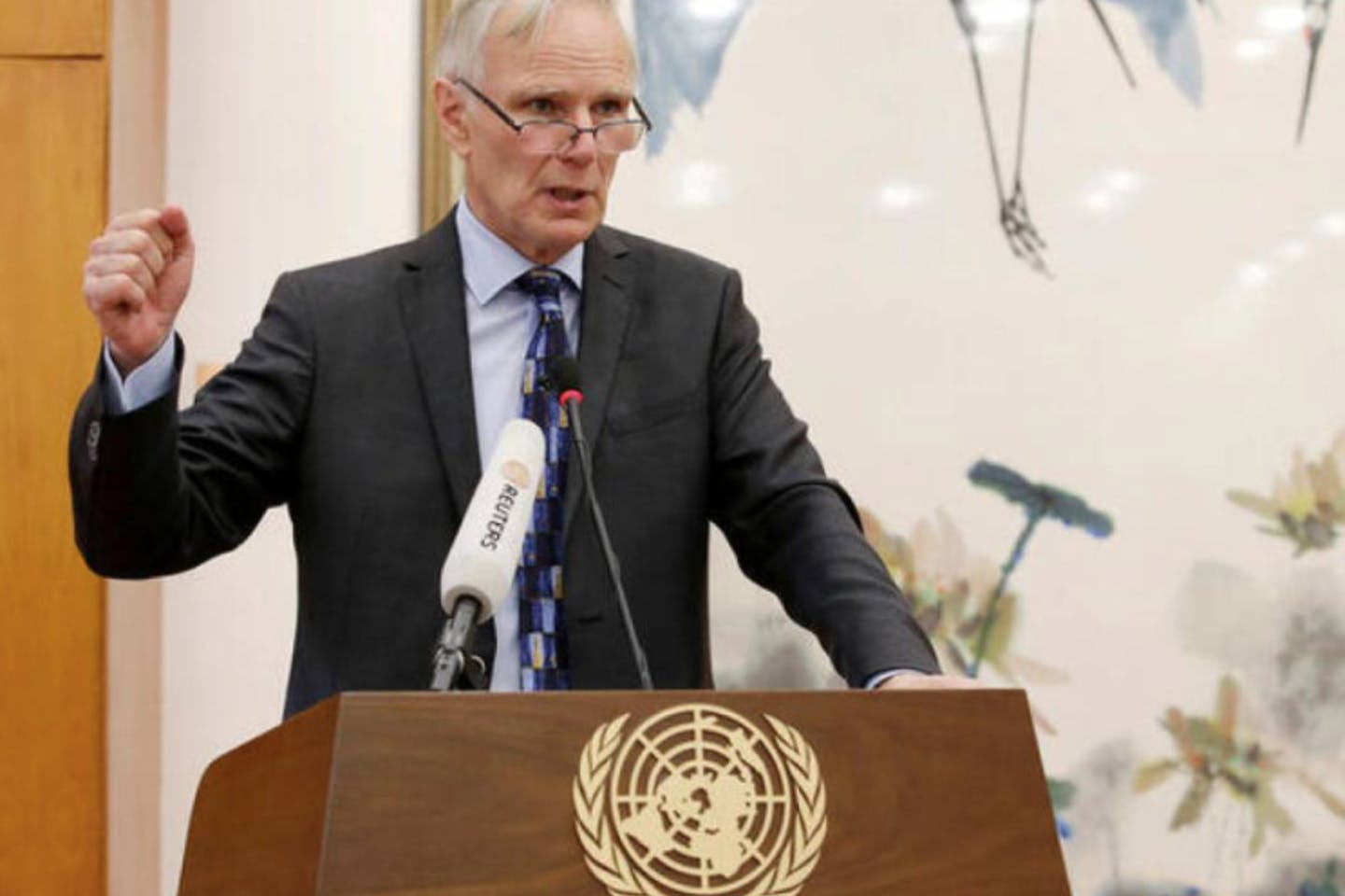 Philip Alston, former special rapporteur on extreme poverty and human rights UN