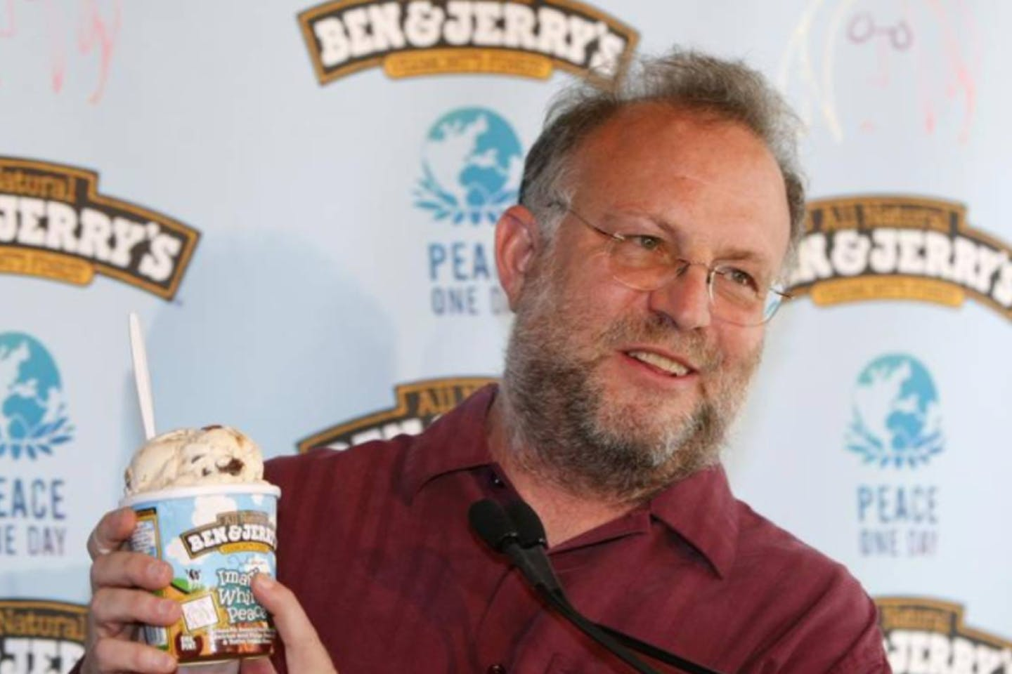 Jerry Greenfield, co-founder of Ben & Jerry's