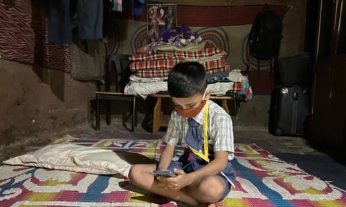 Pandemic turns smartphones from luxury to must-have as India's schools go online