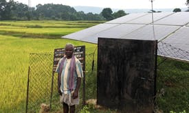 India's tribal farmers tap solar irrigation to cut migration