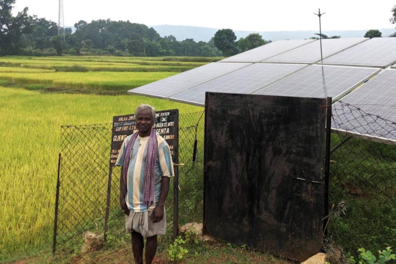 solar panel irrigation india