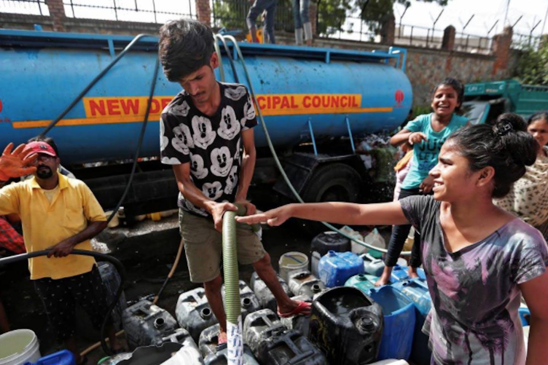 water tanker new delhi
