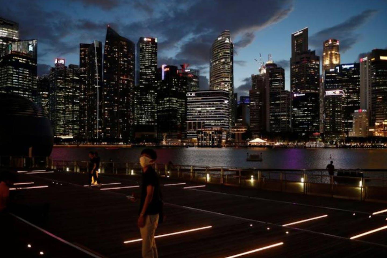 Marina Bay Waterfront Promenade in Singapore