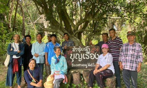 With social media and academics, Thai villagers save ancestral forest