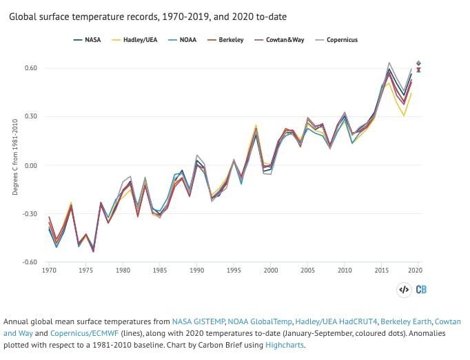 warm year 2020