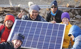 'Astro-stays' bring tourists and solar power to Himalayan villages