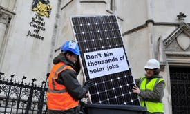 UK stimulus for green jobs should also curb inequality, analysts say