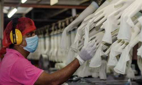 Covid-19 prompts pivot to green alternative to rubber gloves