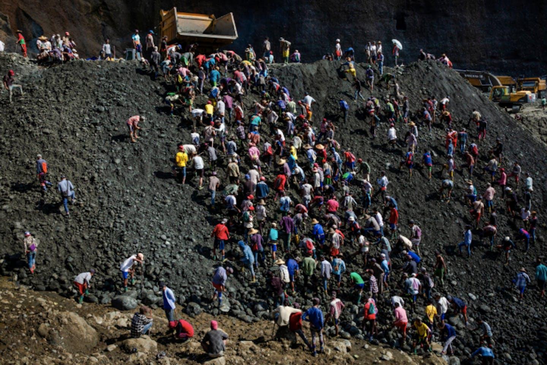 Myanmar's jade mining industry