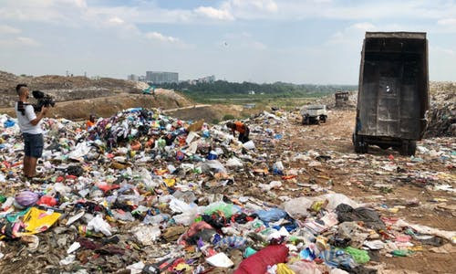 Sri Lanka returns first batch of imported waste from the UK