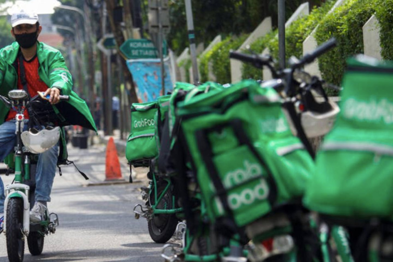 Grabfood worker Indonesia