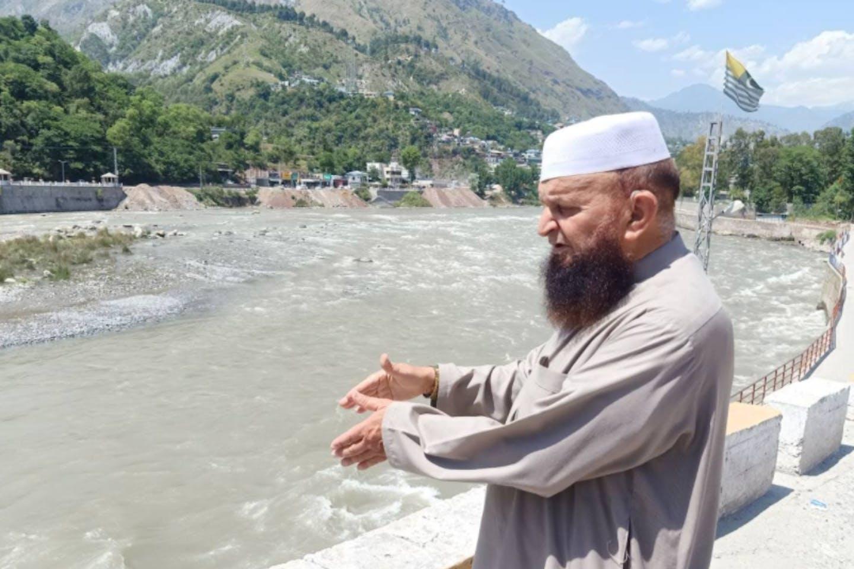 Neelam river Pakistan