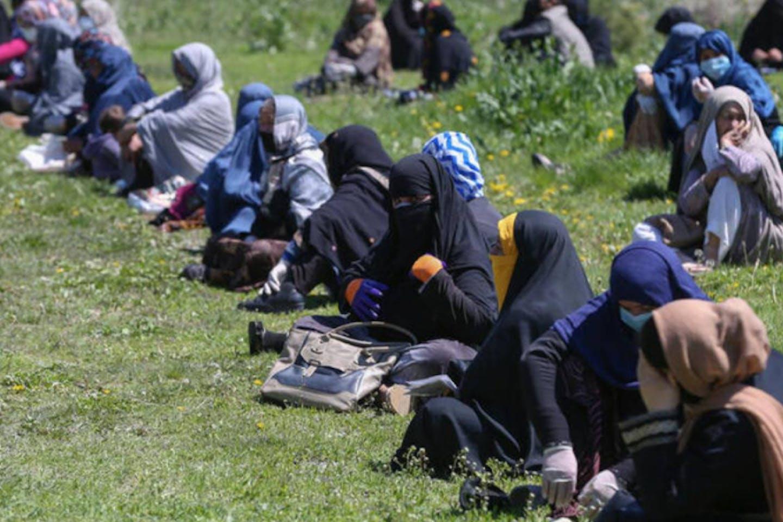 Afghan women Covid 19