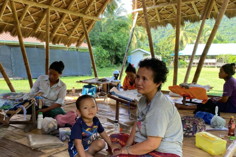 Bang Kloi village in Thailand