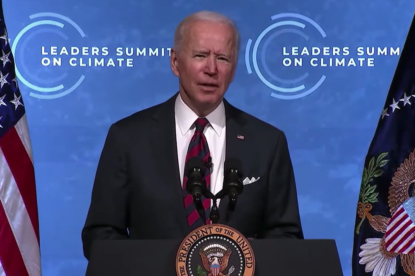 joe biden earth day summit