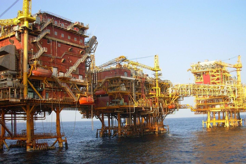 An ONGC oil platform