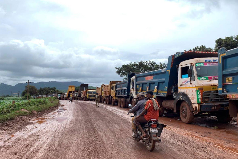 Iron ore transportation