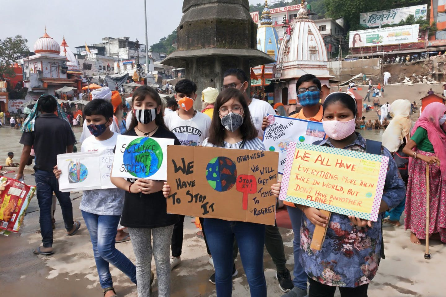 climate strike in india