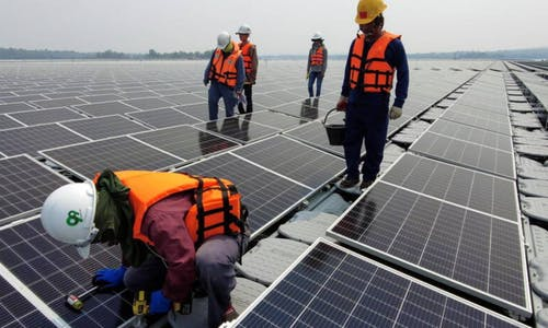How to tackle Covid-19 jobs crisis and climate change? Invest in clean energy