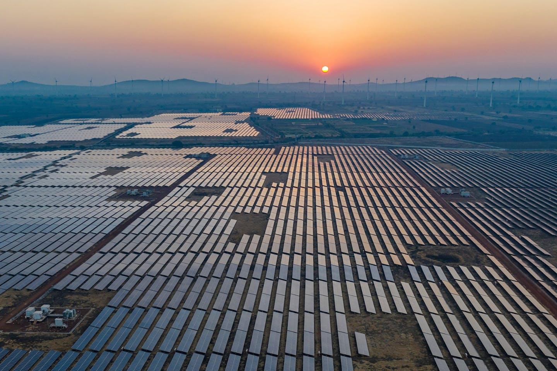 A PETRONAS solar field