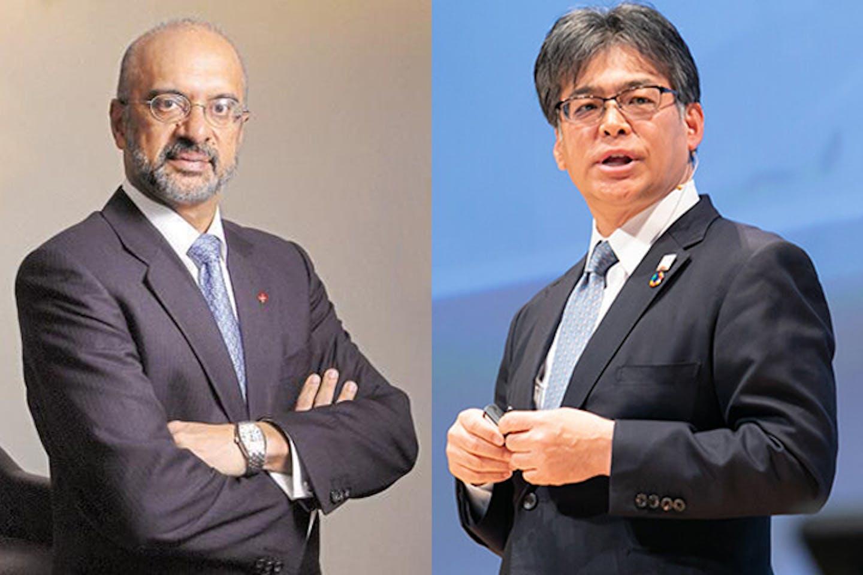 Piyush Gupta and Takahito Tokita