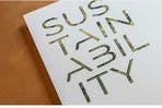 A sustainability report