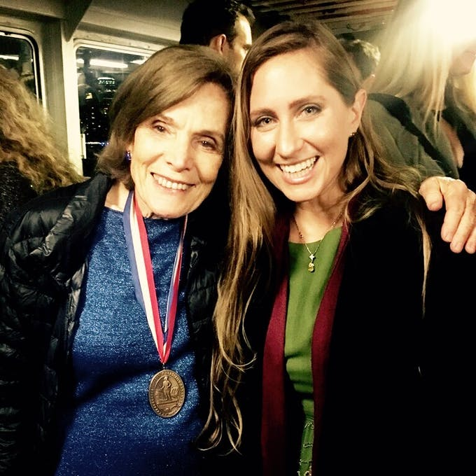 Alex Rose and Sylvia Earle