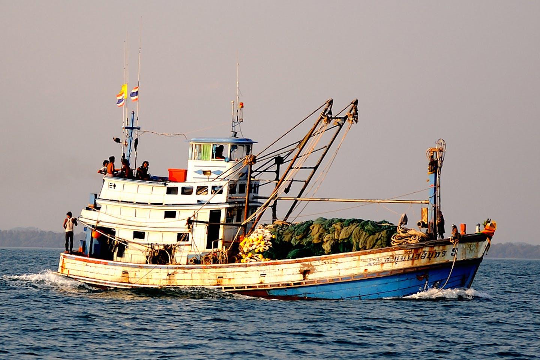 thai fishing boat koh samet
