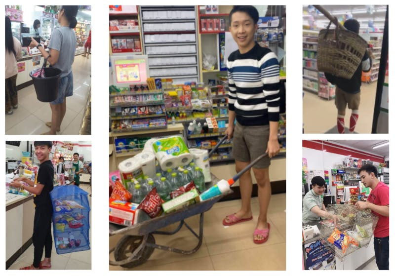 Thai ingenuiity after plastic bag ban