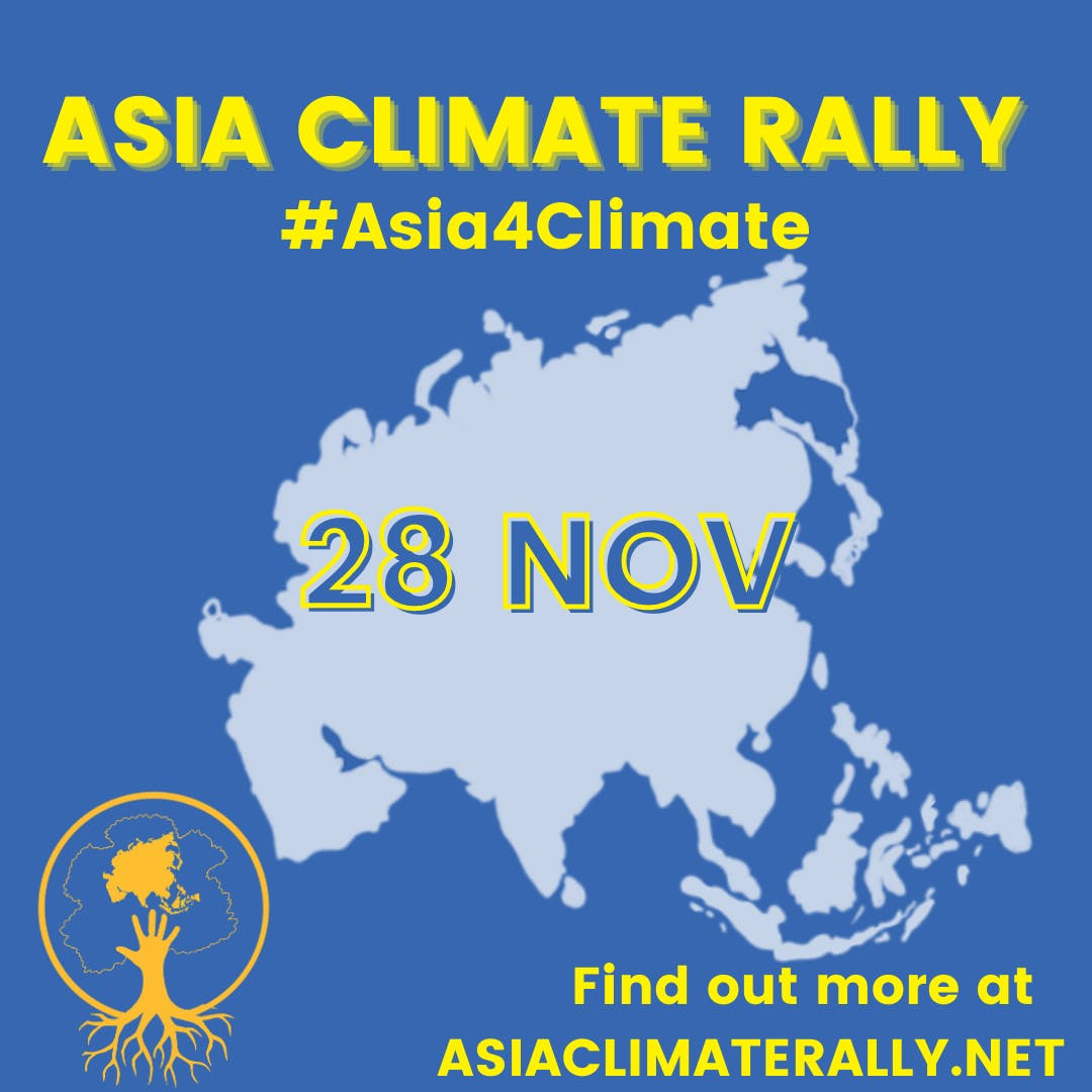 Asia Climate Rally 2020