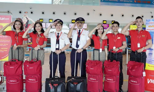 Vietnam airline called out for greenwash promotion: 'Protect our planet – fly with Vietjet'