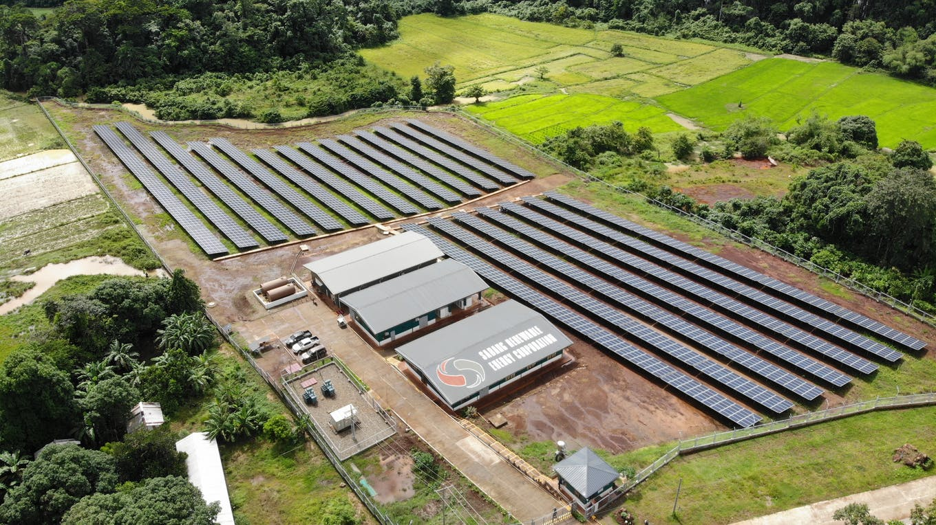 WEnergy Global Sabang microgrid